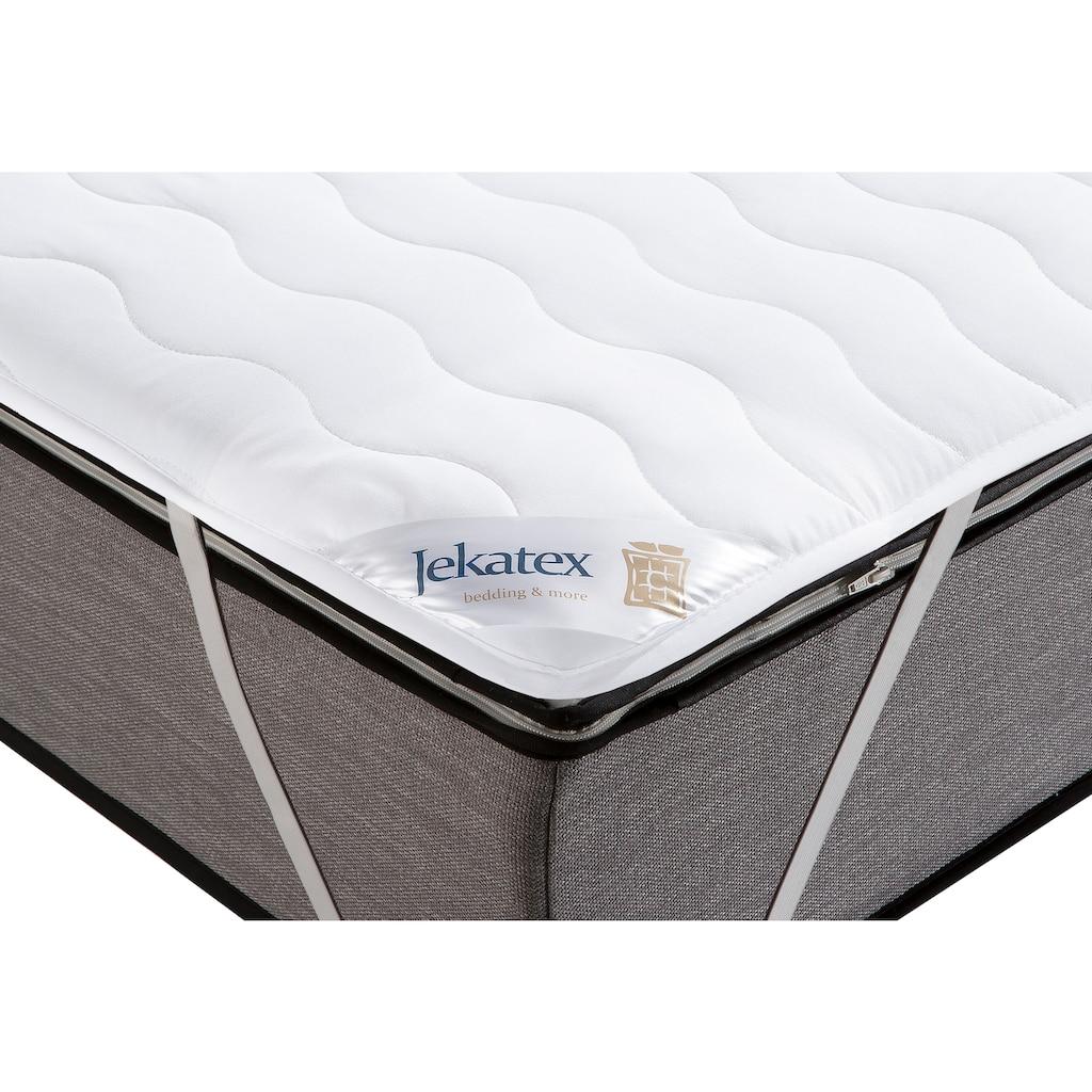 Jekatex Matratzenauflage »Denver«, sorgt für einen erholsamen Schlaf und für anspruchsvolle Hygiene!