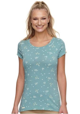 Ragwear Rundhalsshirt »MINT CAMOMILE«, mit All Over-Kamillen-Blumen Druck kaufen