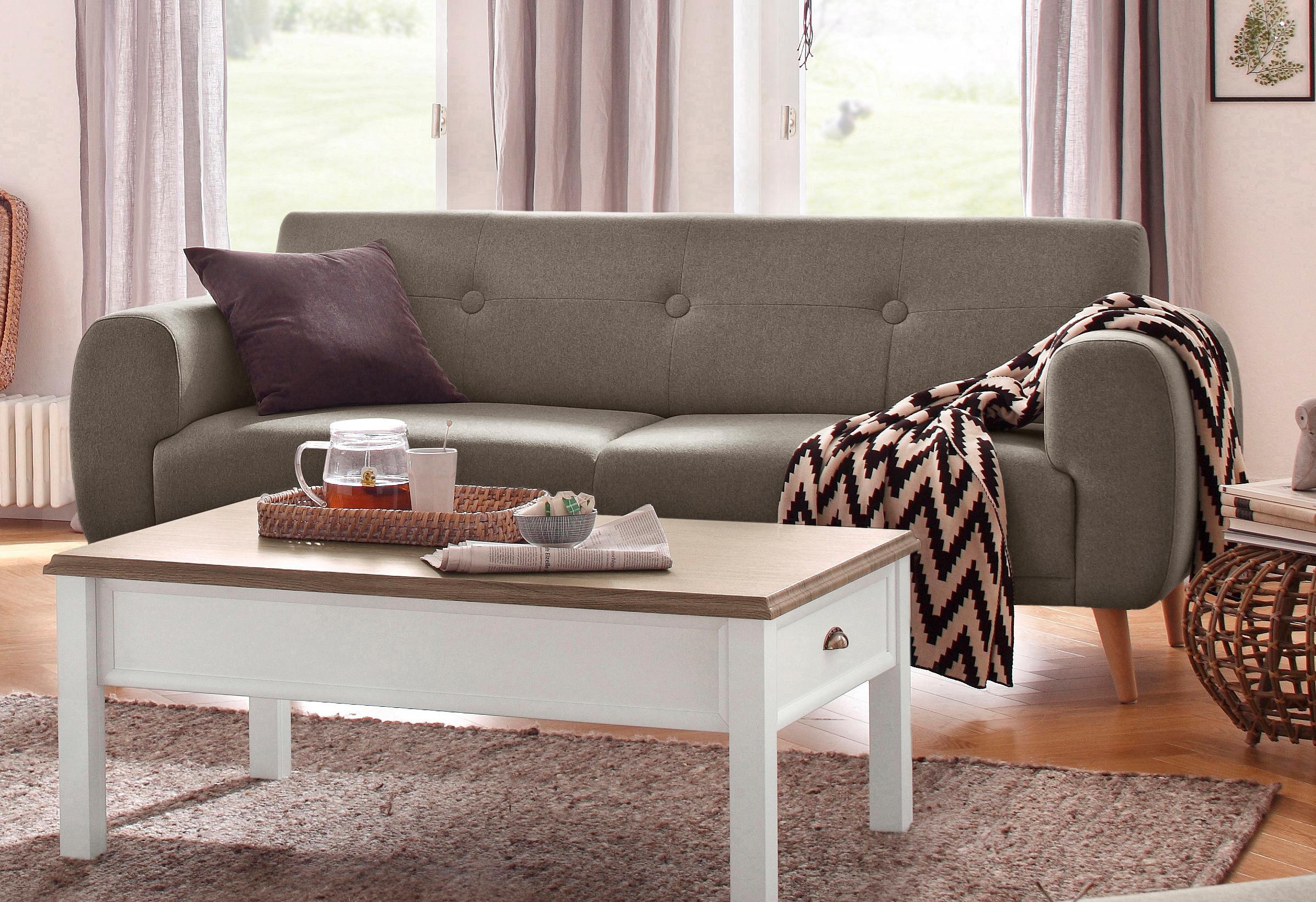 Home affaire 3-Sitzer »Skagen«, mit edler Steppung im Rücken