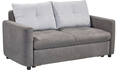 set one by Musterring Sofa »SO 4200«, 2 Sitzer, wahlweise mit Bettfunktion, Federkern oder Boxspringfederung kaufen