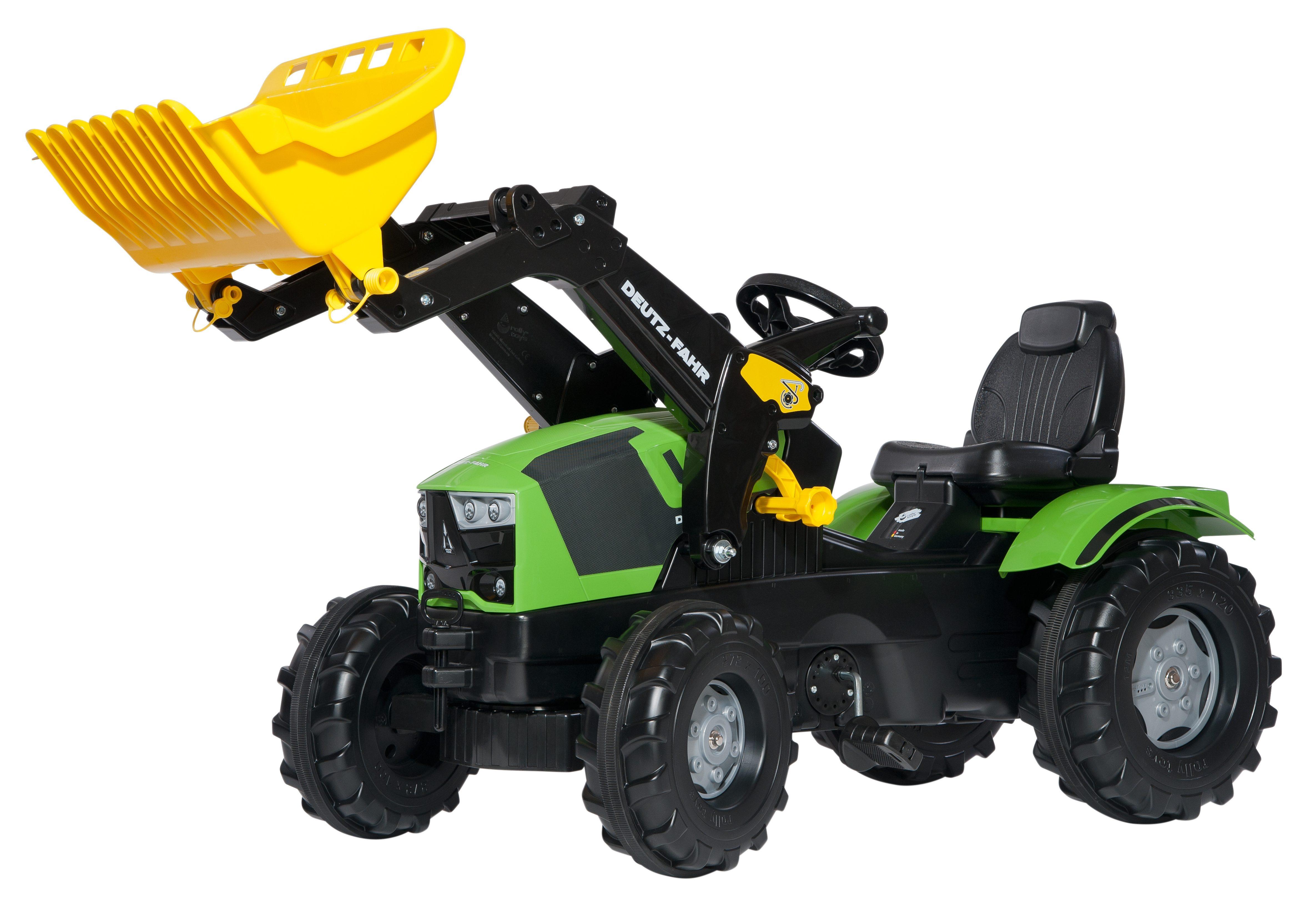 rolly toys® Trettraktor mit Frontlader  rollyFarmtrac Deutz-Fahr 5120  Preisvergleich