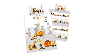 Babybettwäsche »Stadt Baustelle«, Herding kaufen
