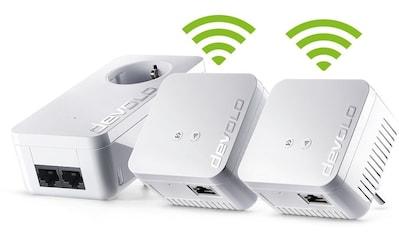 DEVOLO »(500Mbit, 3er Kit, Powerline + WLAN, 1xLAN)« LAN - Router kaufen