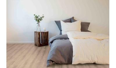 SETEX Bettwäsche »Setex Halbleinen«, in tollen Unifarben kaufen