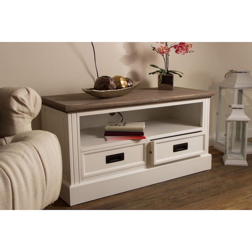 my Flair TV-Board »Rita«, aus teilmassivem Holz, jedes Stück ist ein Unikat, viele Stauraummöglichkeiten, Breite 99 cm