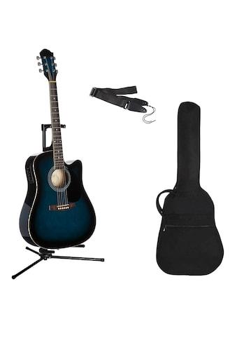 Westerngitarre »4/4«, mit Equalizer und Zubehör kaufen