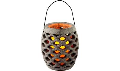 I.GE.A. Laterne »Keramik Windlicht mit LED« kaufen