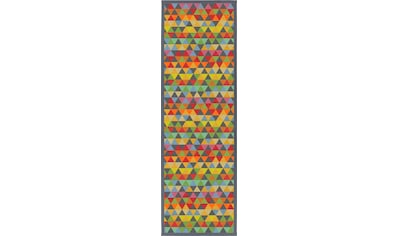 Läufer, »Eltje«, andas, rechteckig, Höhe 7 mm, maschinell gewebt kaufen