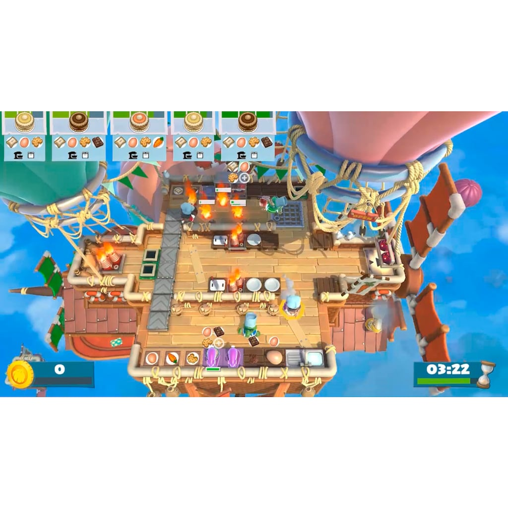 Nintendo Switch Spiel »Overcooked All You Can Eat«, Nintendo Switch