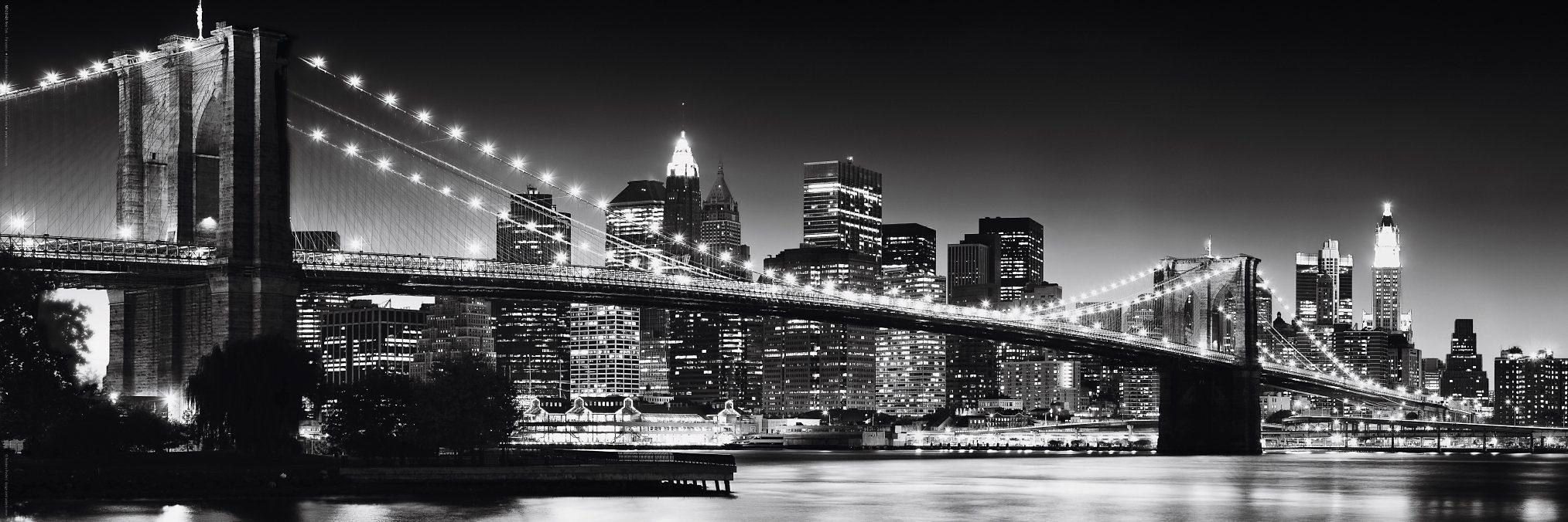 Home affaire Bild »New York - Brooklyn Bridge b...