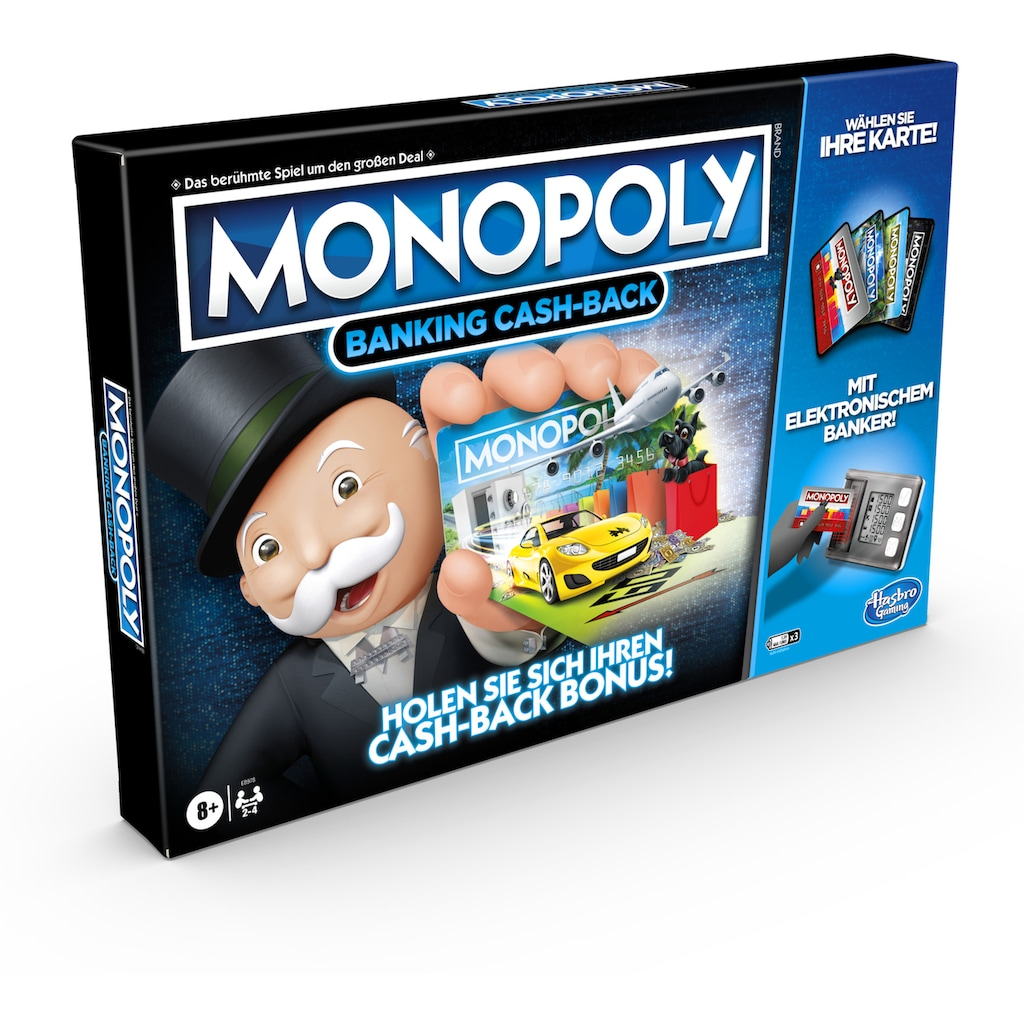 Hasbro Spiel »Monopoly Banking Cash-Back«, Made in Europe