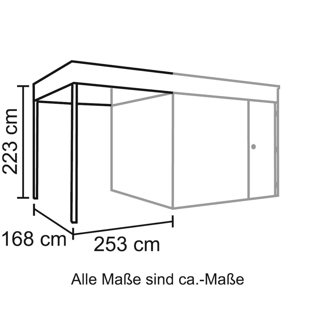 Skanholz Schleppdach »Cross Cube 3+4«