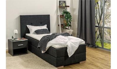 Breckle Boxspringbett, inkl. Komfortschaum-Topper und Bettkasten mit Gasdruckfeder kaufen