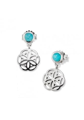 CAÏ Paar Ohrhänger »925/ -  Sterling Silber rhodiniert orientalisch Amaz« kaufen