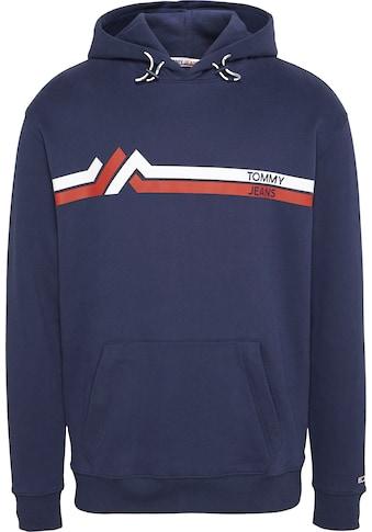 TOMMY JEANS Kapuzensweatshirt »TJM STRIPE MOUNTAIN HOODIE« kaufen