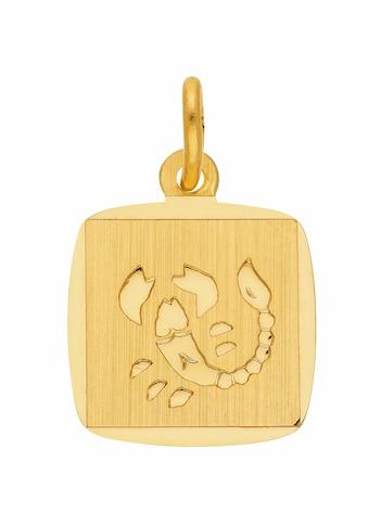 Adelia´s Kettenanhänger »333 Gold Sternzeichen Anhänger Skorpion« kaufen