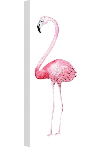 Leinwandbild »Kvilis  -  Pink Flamingo 01« kaufen