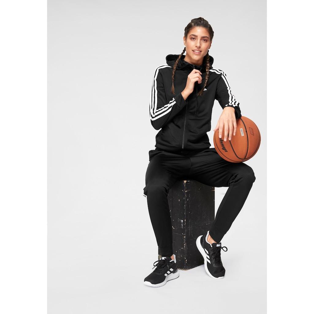 adidas Performance Trainingsanzug »PES 3 STRIPES TRACKSUIT W« (Set, 2 tlg.)