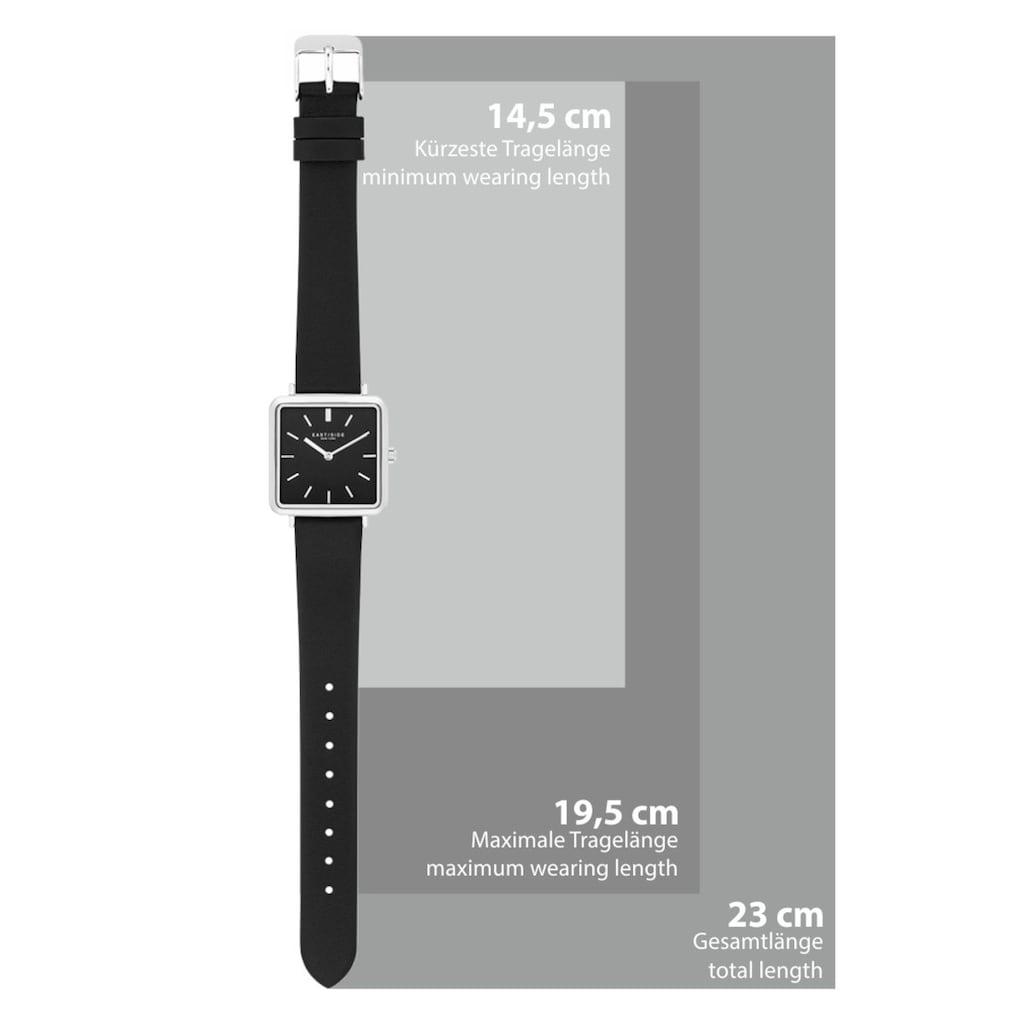 Eastside Quarzuhr »ES202«, (1 tlg.), mit Echtleder-Armband