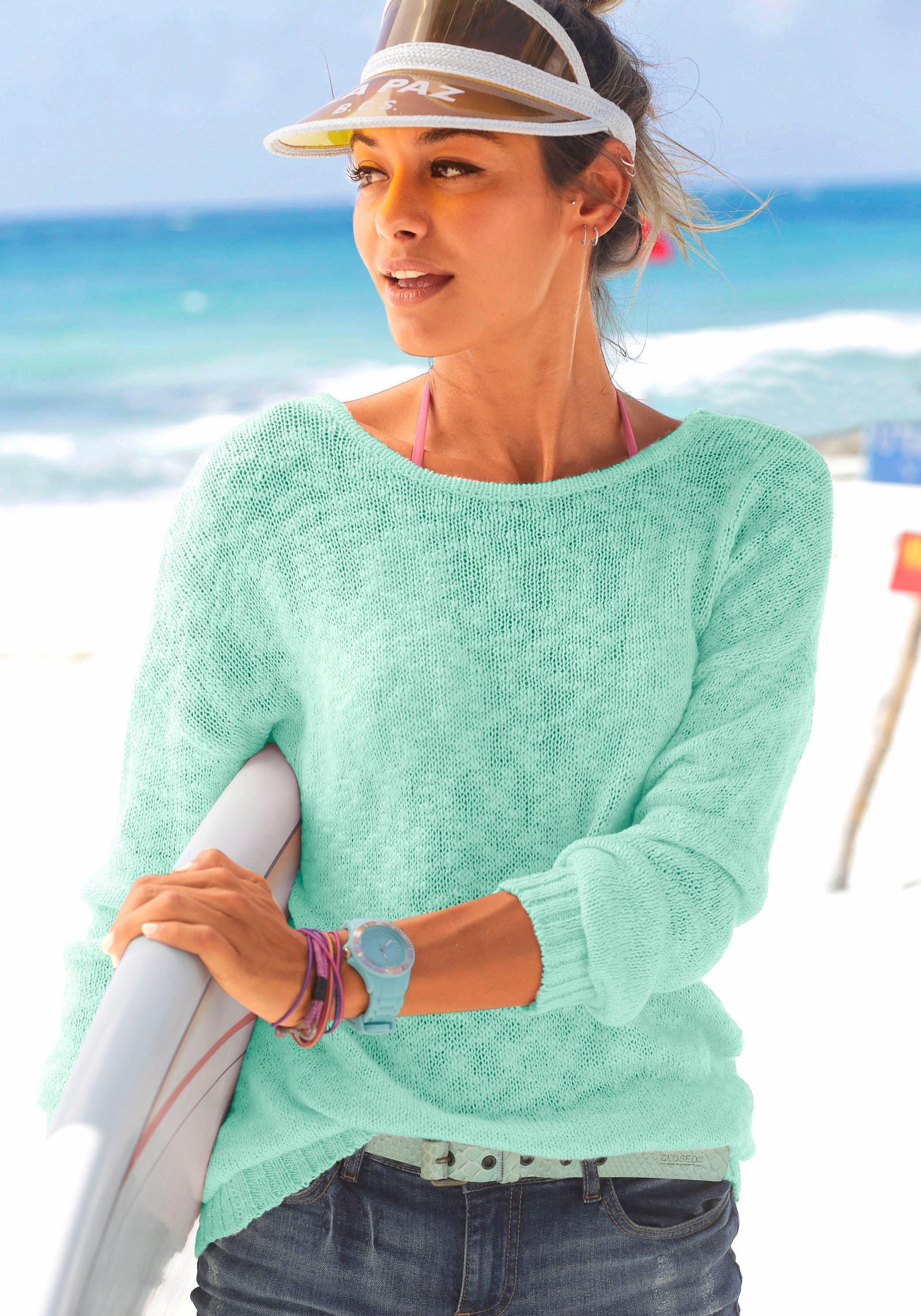 Venice Beach Strandpullover | Bekleidung > Bademode > Strandbekleidung | Venice Beach