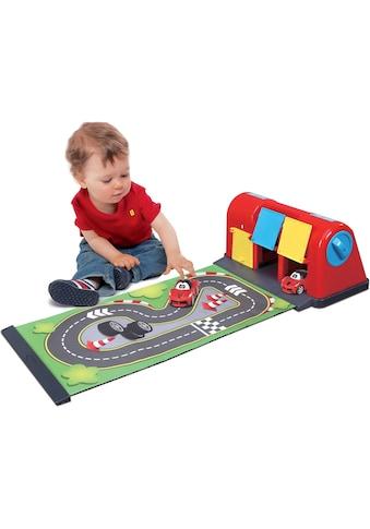 bbJunior Spiel-Parkgarage »Ferrari Roll Away Raceway«, mit ausrollbarer Spielmatte... kaufen