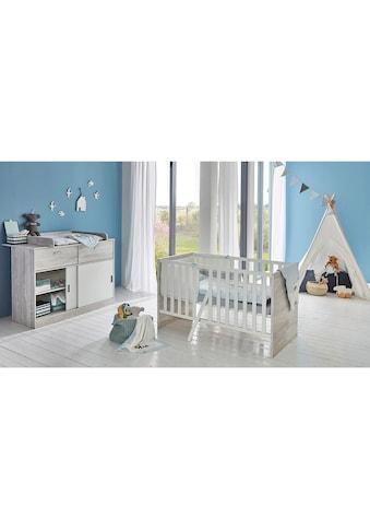 arthur berndt Babymöbel-Set »Justus«, (Spar-Set, 2 St.), mit Kinderbett und... kaufen