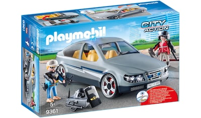 Playmobil® Konstruktions-Spielset »SEK-Zivilfahrzeug (9361), City Action«, Made in Germany kaufen