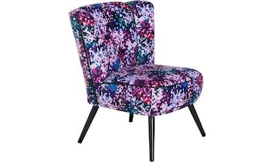 Max Winzer® Sessel »Enzo«, PIXEL, mit abgesetzten Kunstleder-Pfeifennähten kaufen
