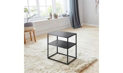 andas Nachttisch »Vilho«, aus einem schönen weißen Metallgestell und einer Ablegemöglichkeit kaufen