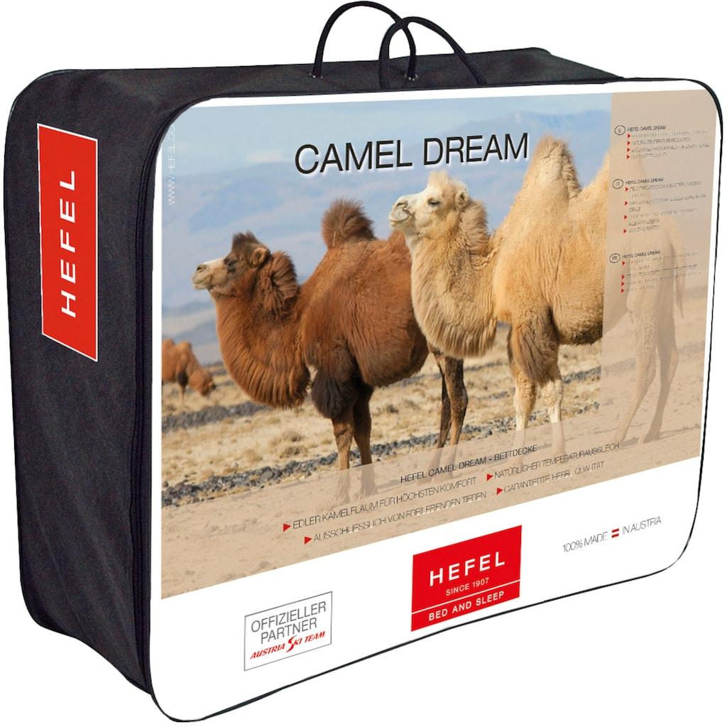 Hefel Naturhaarbettdecke »Camel Dream Ganzjahresdecke«, normal, (1 St.)