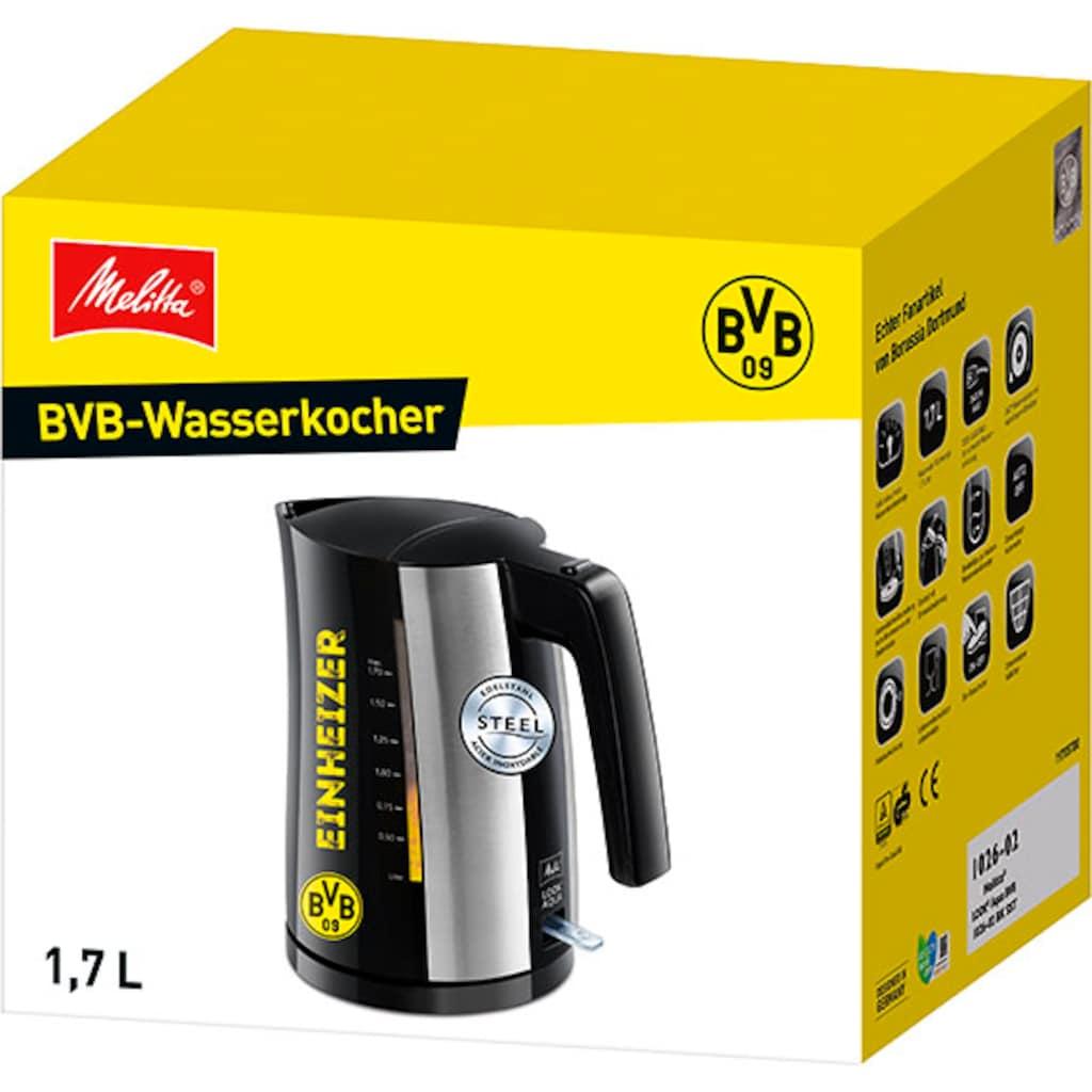 Melitta Wasserkocher »Look® Aqua BVB- Edition«, 1,7 l, 2400 W