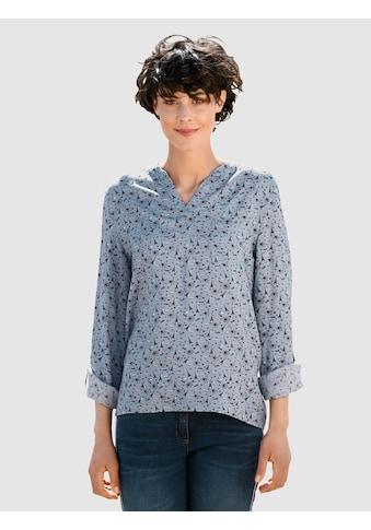 Dress In Bluse mit schönem Druck kaufen