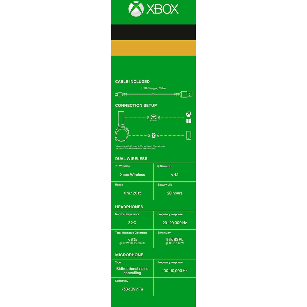 SteelSeries Gaming-Headset »Arctis 9X (Series X) Gaming Headset kabelgebunden Arctis 9X (Series X)«