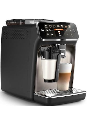 Philips Kaffeevollautomat »5400 Series EP5447/90 LatteGo«, chrom/mattschwarz kaufen