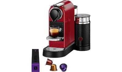 Nespresso Kapselmaschine »XN7615 New CitiZ & milk«, mit Aeroccino Milchaufschäumer kaufen