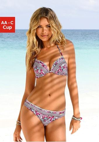 Sunseeker Push-Up-Bikini, mit gerafftem Cup kaufen