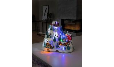 KONSTSMIDE LED-Dekofigur, LED Szenerie Skipiste, mit Animation und 8 klassischen... kaufen