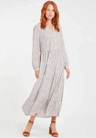 b.young Blusenkleid »BYITALLA«, Luftiges Kleid mit langen Ärmeln kaufen