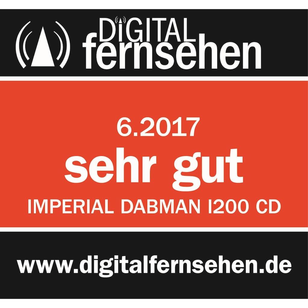 IMPERIAL by TELESTAR CD-Player »DABMAN i200 CD«, (WLAN-Bluetooth-CD Digitalradio (DAB+)-FM-Tuner-Internetradio ), Spotify Connect