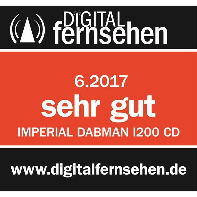 IMPERIAL CD-Digitalradio für DAB+/Internetradio, Spotify Connect »DABMAN i200 CD«
