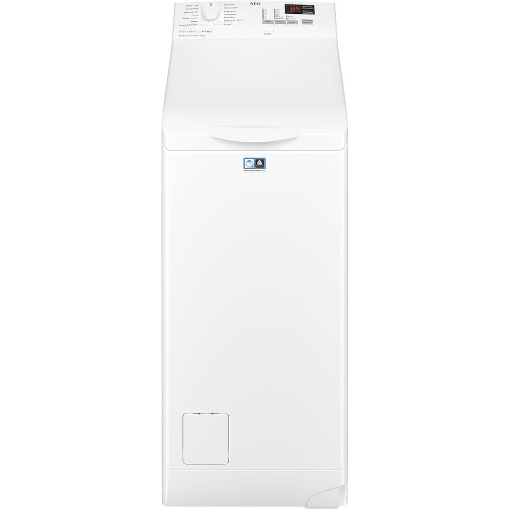 AEG Waschmaschine Toplader »L6TB40460«, L6TB40460, ProSense - Mengenautomatik