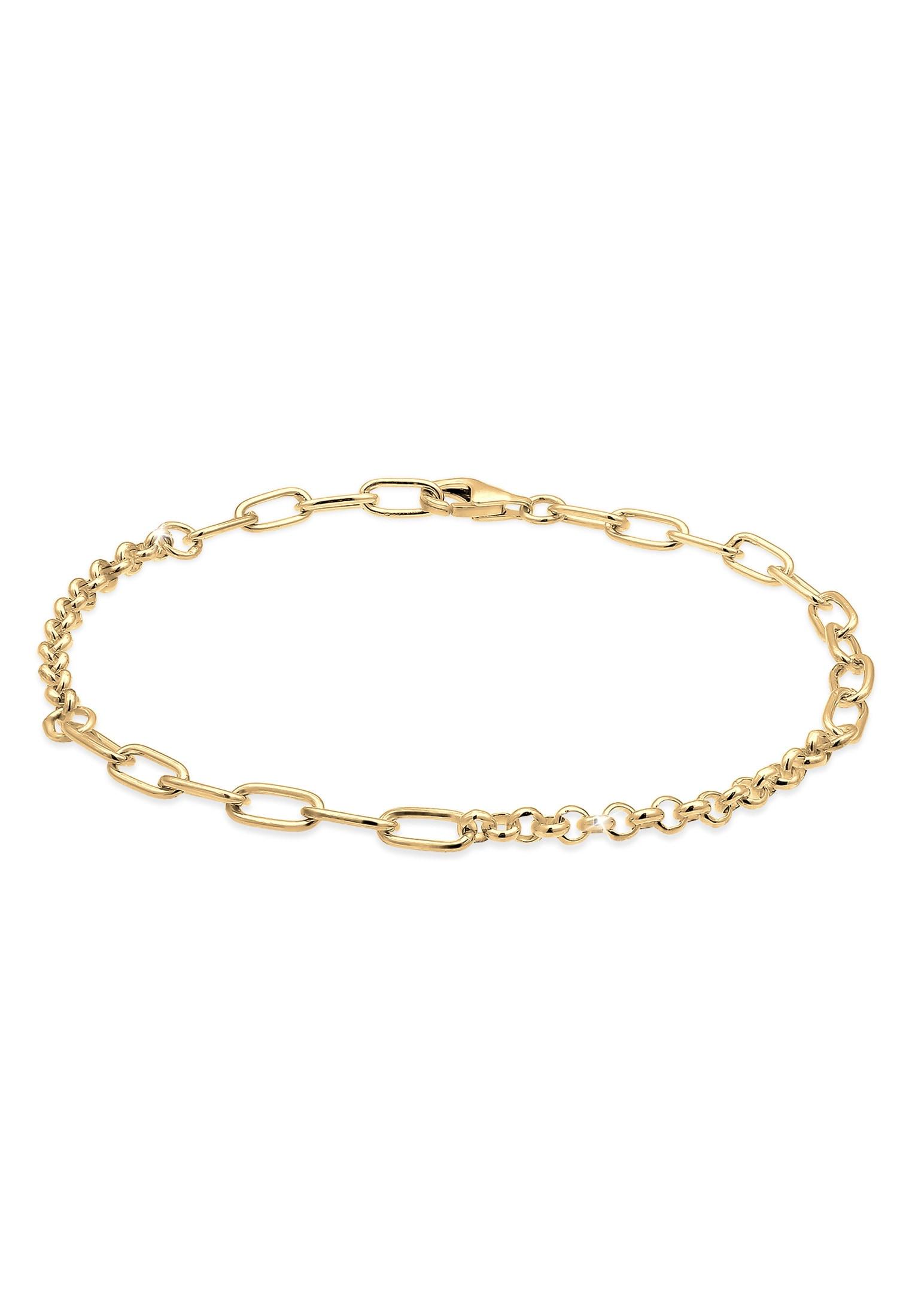 Nenalina Armband Charmträger Bettelarmband Basic 925 Silber | Schmuck > Armbänder > Silberarmbänder | Nenalina