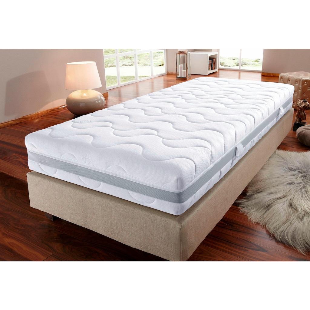 Beco Komfortschaummatratze »Sanicare Luxus & Klima«, 23 cm cm hoch, Raumgewicht: 28 kg/m³, (1 St.), Top-Hygiene, Komfort und Allergie-Schutz