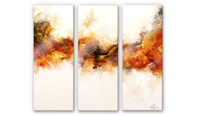 Wall-Art Mehrteilige Bilder »Goldadler (3-teilig)«, (Set, 3 St.) kaufen