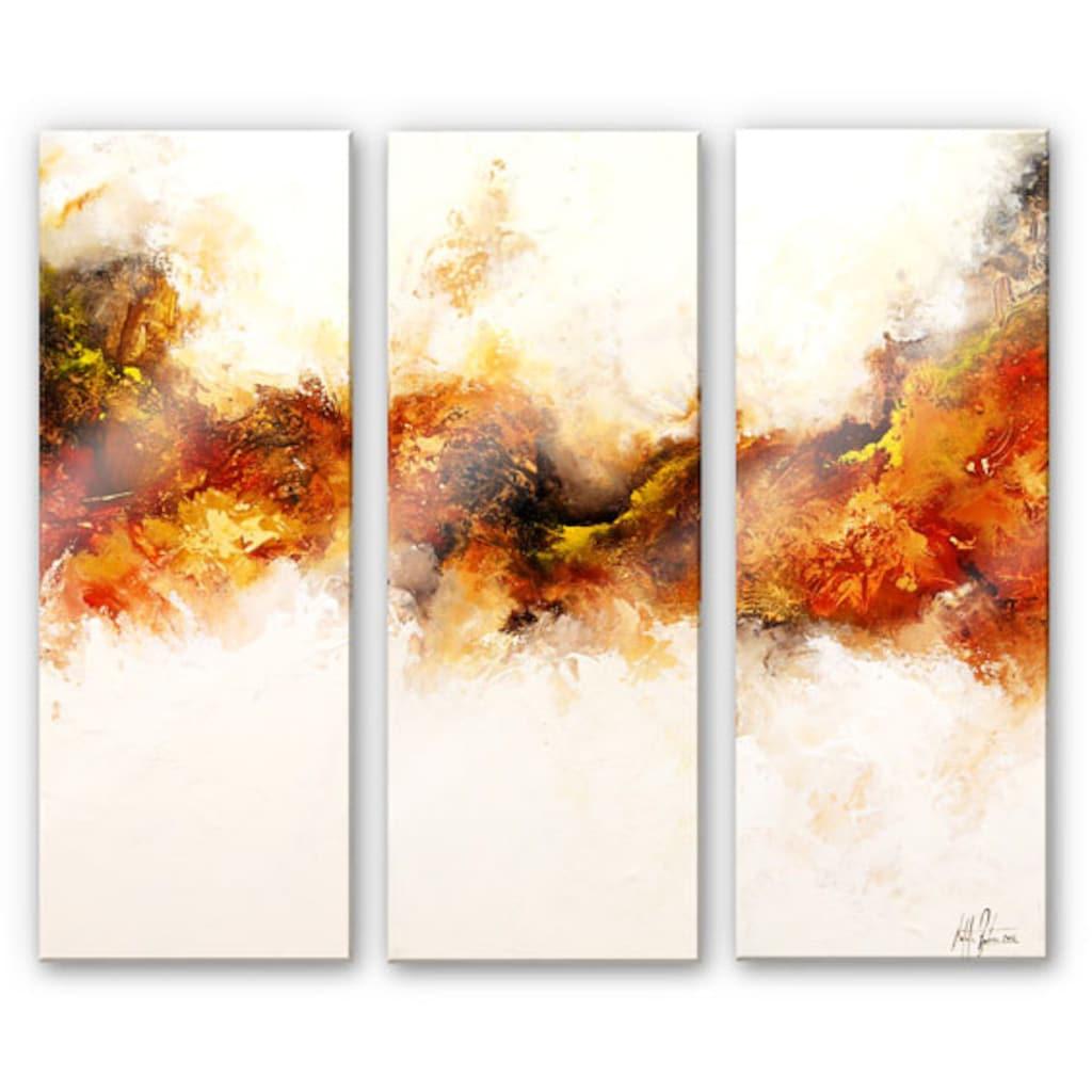 Wall-Art Mehrteilige Bilder »Goldadler (3-teilig)«, (Set, 3 St.)