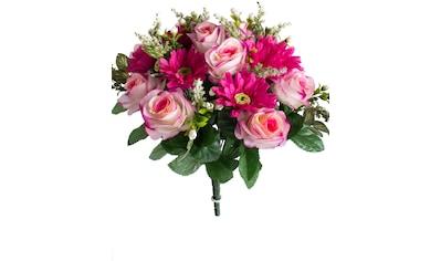 Botanic-Haus Kunstblume »Rosen-Gerbera-Strauß« kaufen