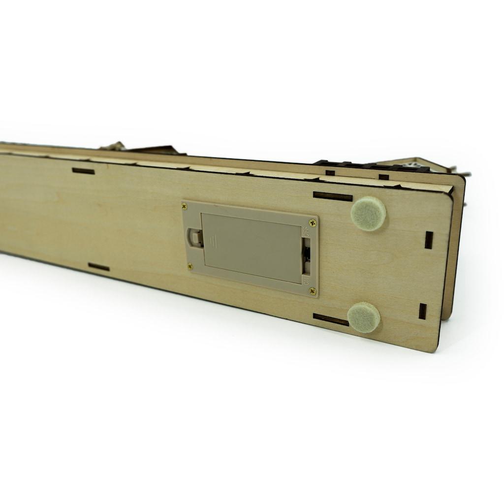 NOOR LIVING Schwibbogen »Sternschnuppe«, 1 tlg., Länge ca. 45 cm, Batteriebetrieb