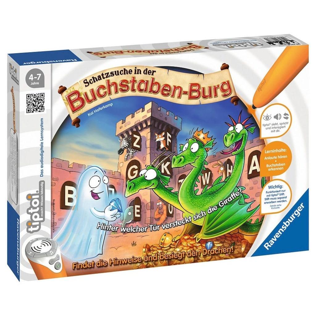 Ravensburger Spiel »tiptoi® Puzzle, Schatzsuche in der Buchstabenburg«, Made in Europe, FSC® - schützt Wald - weltweit