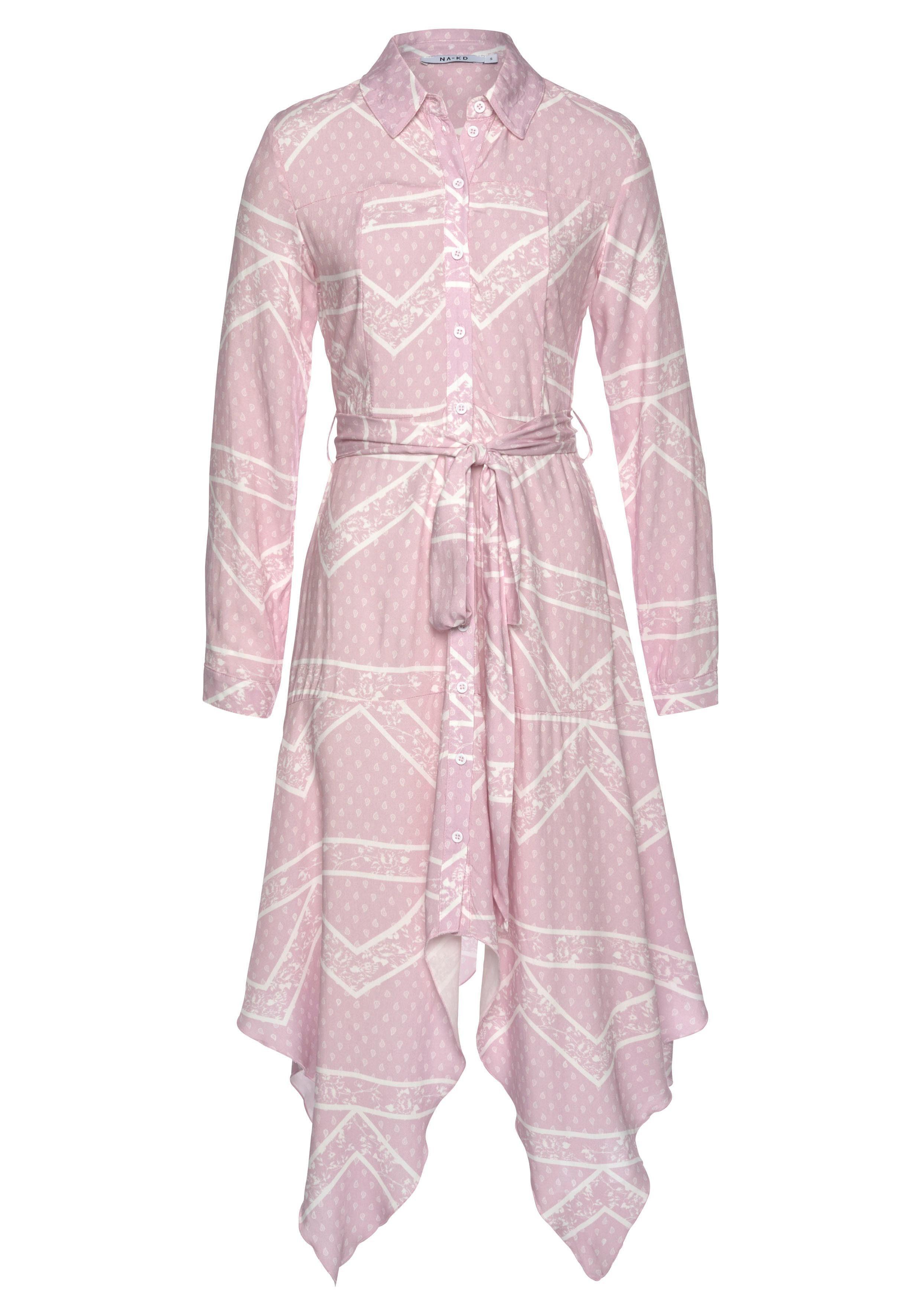 NA-KD Blusenkleid 3025 Damenmode/Bekleidung/Kleider/Blusenkleider