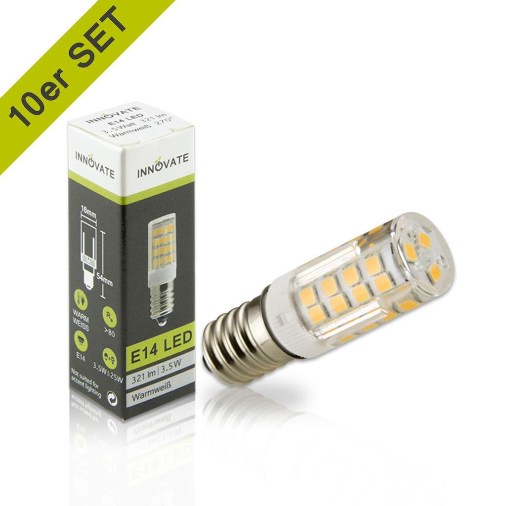INNOVATE E14 LED-Leuchtmittel im praktischen 10er-Set